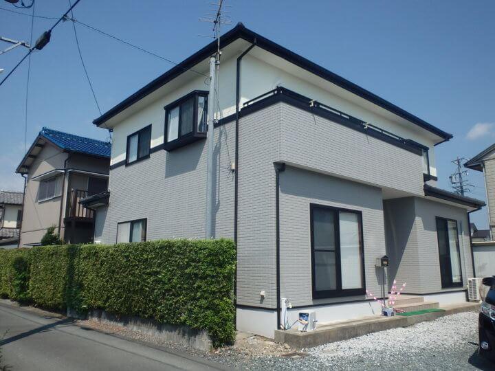 浜松市浜北区KMさま外壁塗装完成しました。浜松市外壁塗装専門店|加藤塗装