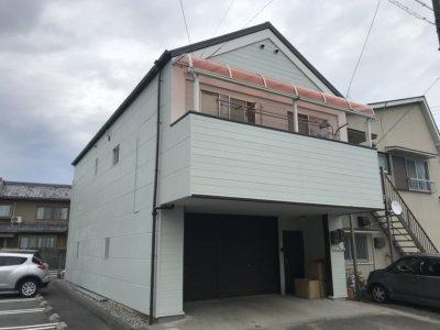 浜松市中区砂山町 K様屋根外壁塗装完了しました。