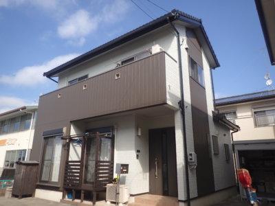 浜松市南区寺脇町Mさま外壁塗装完了。外壁塗装のことなら浜松塗装専門店 加藤塗装
