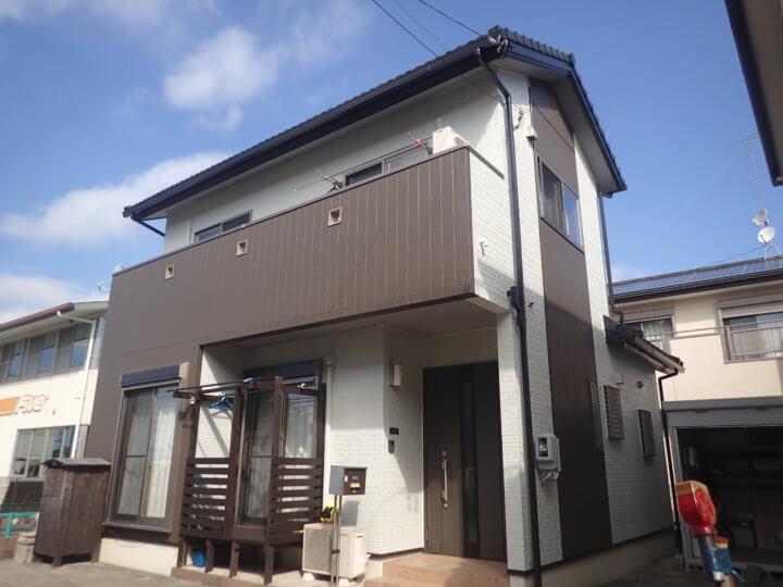 浜松市南区寺脇町Mさま外壁塗装完了。外壁塗装のことなら浜松塗装専門店|加藤塗装