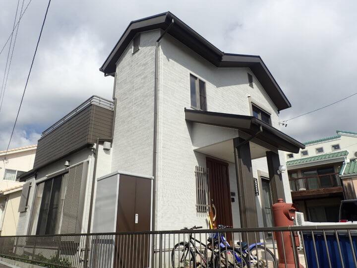 浜松市東区大蒲町Kさま外壁塗装完了。外壁塗装のことなら浜松塗装専門店|加藤塗装