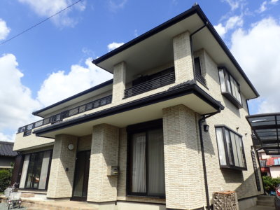 磐田市中平松鈴木清さま外壁塗装完了しました。外壁塗装のことなら塗装専門店|加藤塗装