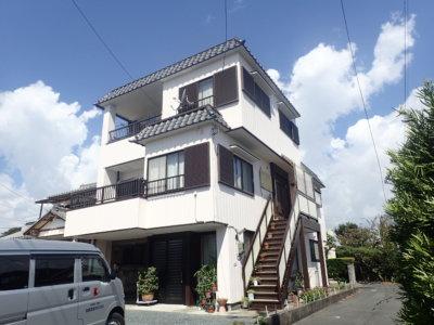 浜松市南区長田町Mさま屋根・外壁塗装完成。外壁塗装のことなら浜松塗装専門店|加藤塗装
