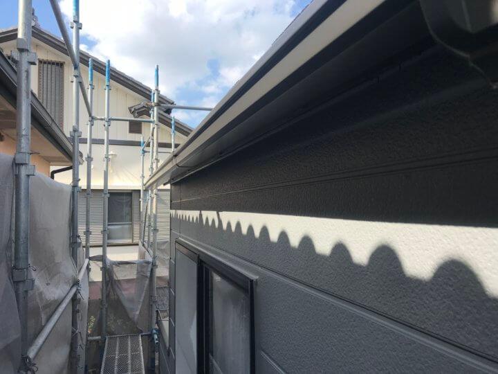 雨樋塗装完了