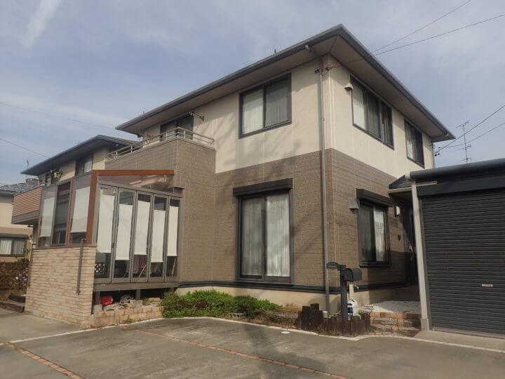 浜松市南区富屋町 N様外壁塗装完了しました。外壁塗装のことなら浜松塗装専門店|加藤塗装