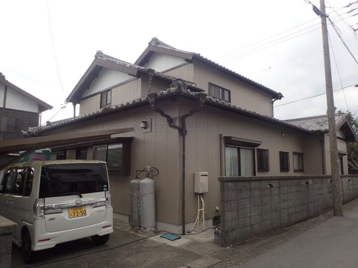 磐田市福田町にて外壁塗装完成しました。外壁塗装ことなら浜松塗装専門店|加藤塗装