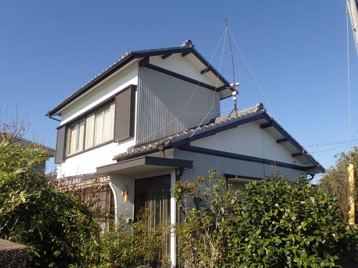 浜松市南区中田島町Mさま外壁塗装完成。外壁塗装のことなら浜松塗装専門店|加藤塗装