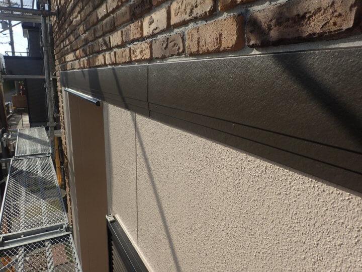 帯板塗装完了