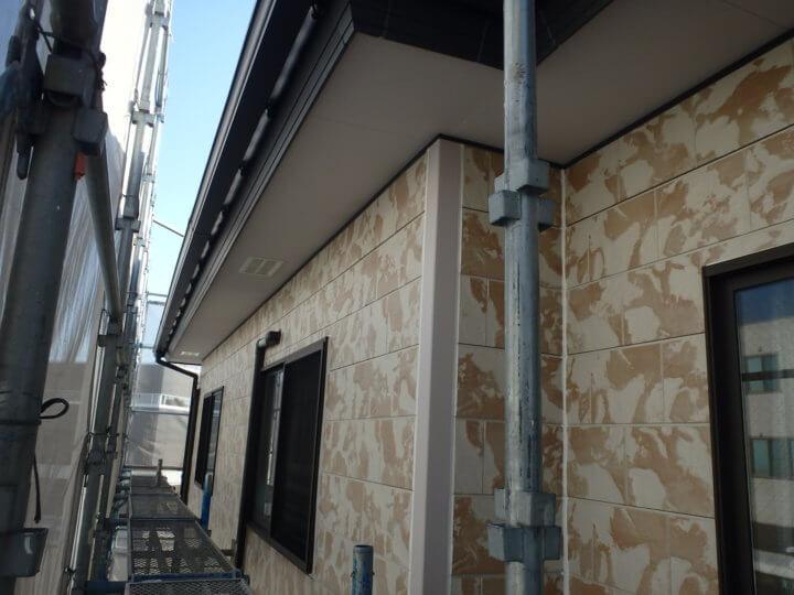 軒塗装完了