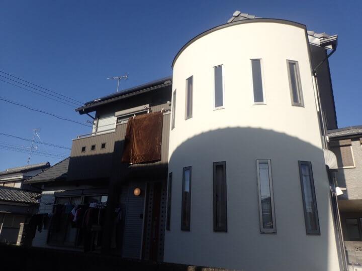 浜松市浜北区尾野Hさま邸外壁塗装完成しました。外壁塗装のことなら浜松塗装専門店|加藤塗装