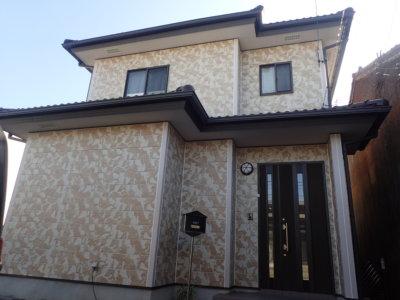 浜松市中区菅原町Sさま外壁塗装完成。外壁塗装のことなら浜松塗装専門店|加藤塗装