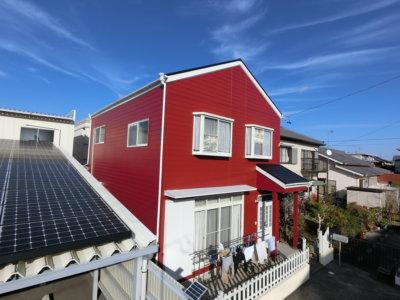 浜松市南区安松町にて外壁塗装完成。外壁塗装のことなら浜松塗装専門店|加藤塗装