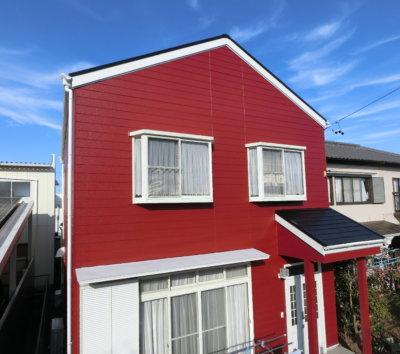 外壁屋根塗装 赤 パワーレッド ヒューマンレッド アステックペイントジャパン エスケー化研 浜松市 加藤塗装 今年の色 流行