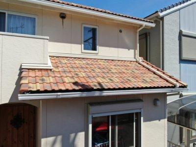 洋風住宅 洋瓦 カラーシミュレーション 外壁塗替え 浜松市 加藤塗装 ショールーム 外壁診断 相談 シミュレーション 無料