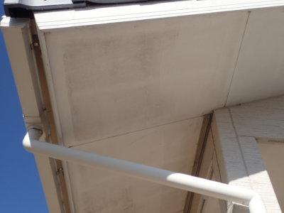 ハナミズキ工房 軒天 汚れ サイディングボード 外壁 目地 ひび割れ シーリング 台風被害 塗装 平屋 カラーシミュレーション 浜松市 加藤塗装