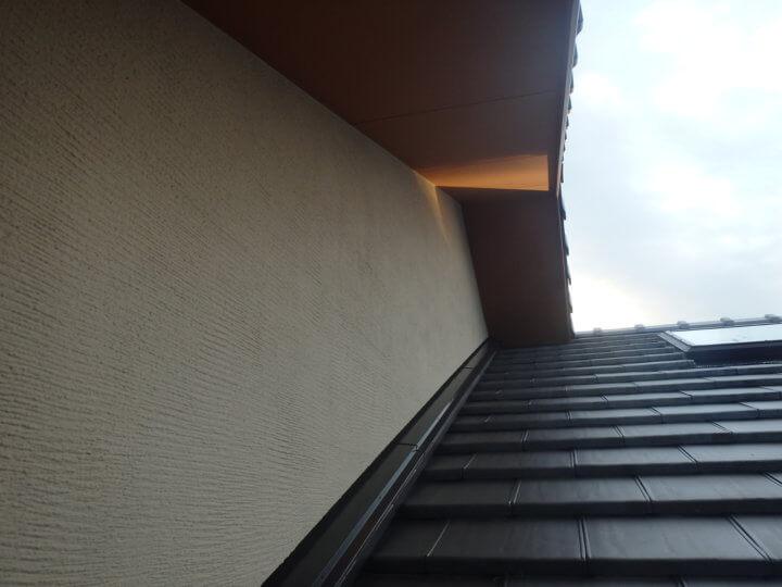 軒塗装完成