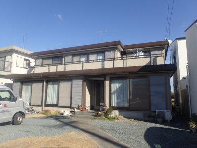 浜松市南区西町 I様屋根及び付帯塗装完成。外壁塗装のことなら浜松塗装専門店|加藤塗装