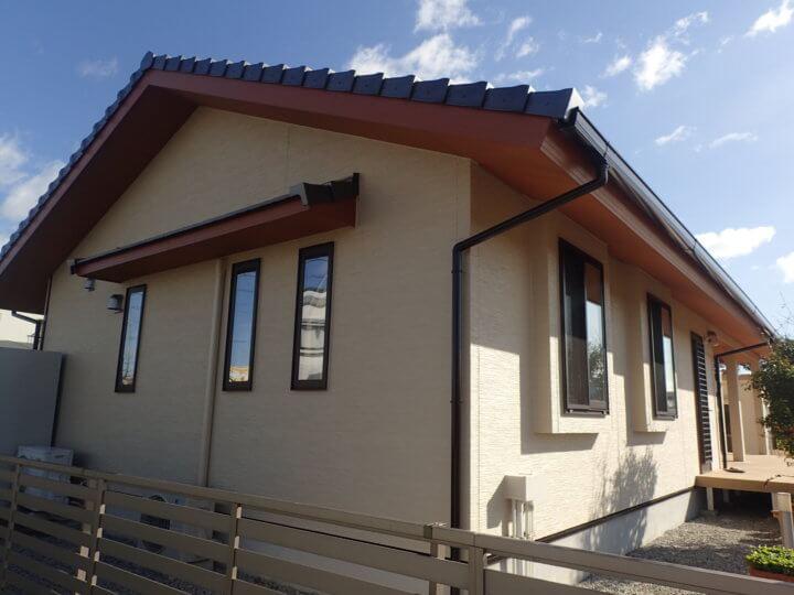 浜松市南区西町Nさま外壁塗装完成。外壁塗装のことなら浜松塗装専門店|加藤塗装