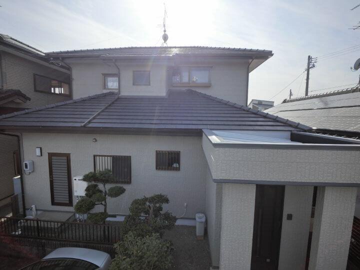 浜松市浜北区横須賀にて外壁塗装完成しました。外壁塗装のことなら浜松塗装専門店|加藤塗装