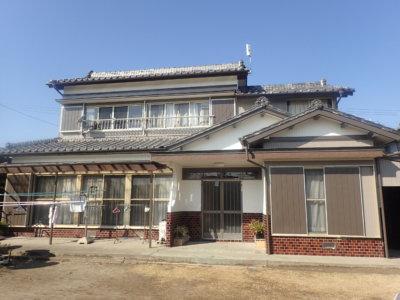 磐田市西平松にて外壁塗装完成しました。外壁塗装のことなら磐田塗装専門店|加藤塗装