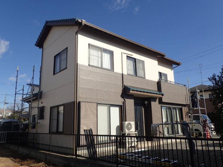 浜松市南区西町Bさま外壁塗装完成しました。外壁塗装のことなら浜松塗装専門店|加藤塗装