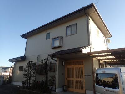 浜松市南区福島町 I様邸外壁塗装完成しました。外壁塗装のことなら浜松塗装専門店|加藤塗装