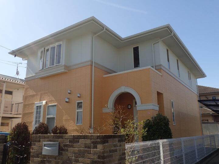浜松市中区冨塚町Mさま外壁屋根塗装完成しました。外壁塗装のことなら浜松塗装専門店|加藤塗装