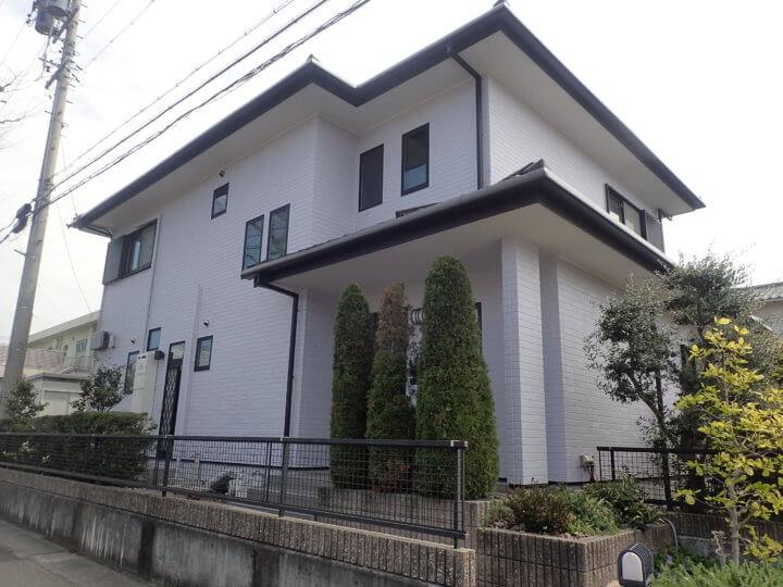 浜松市中区佐鳴台Tさま外壁塗装完成しました。外壁塗装のことなら浜松塗装専門店|加藤塗装