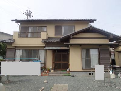 外壁塗装屋根塗装防水工事施工事例浜松市浜北区塗装専門店加藤塗装