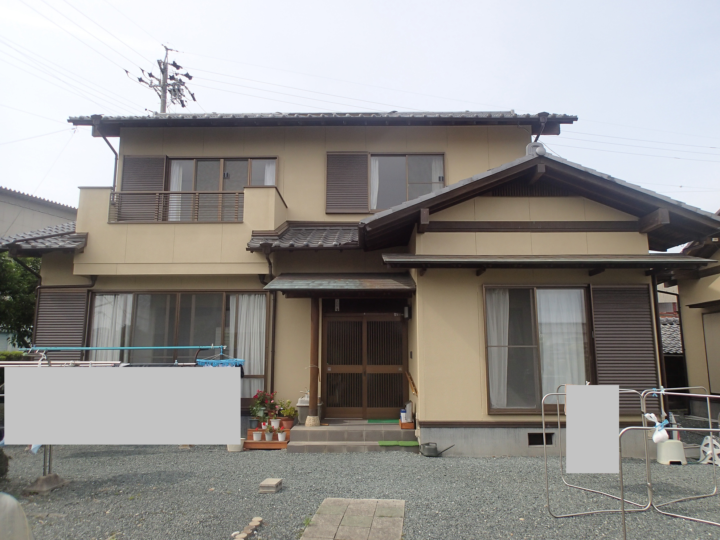 浜松市浜北区善地Nさま外壁塗装完成しました。外壁塗装の事なら浜松塗装専門店|加藤塗装