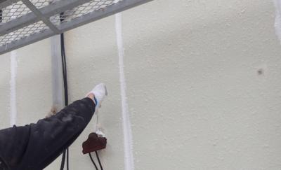 浜松市外壁塗装のことなら浜松塗装専門店|加藤塗装 高層ビル補修工事 ALC外壁 シーリング改修