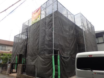 外壁塗装浜松市塗装専門店加藤塗装 屋根塗装防水工事雨漏り対策足場架設梅雨戸建住宅一般住宅ペイペイキャッシュレス決済コロナに負けるな