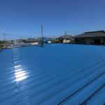 浜松市南区福島町Hさま屋根塗装完成しました。外壁塗装のことなら浜松塗装専門店|加藤塗装