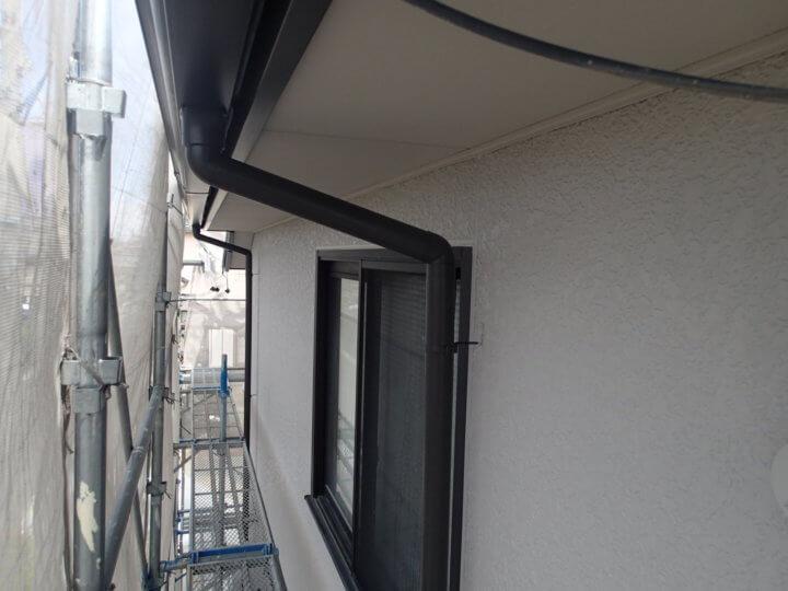 2階外壁塗装完成