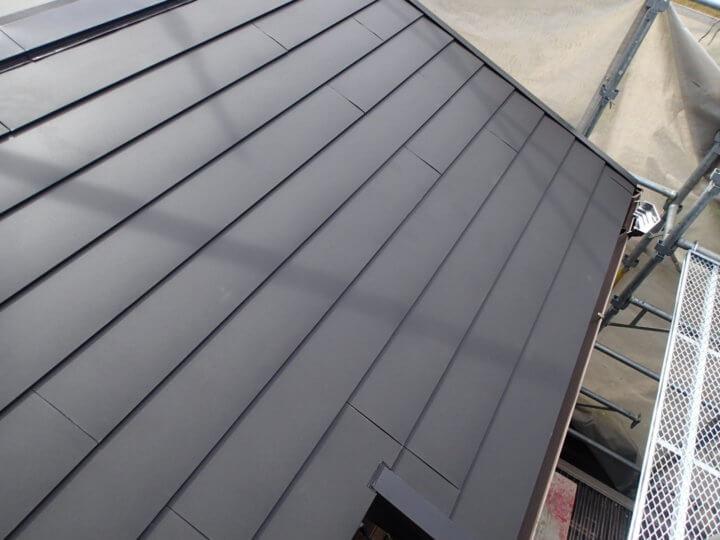 1階屋根改修完成