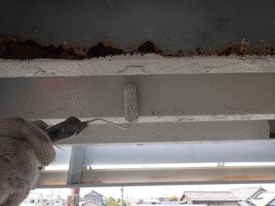 外壁塗装屋根塗装防水工事 浜松塗装専門店|加藤塗装 塩害 遠州浜 からっ風 台風 錆 トタン 穴 錆止め塗料 軒天