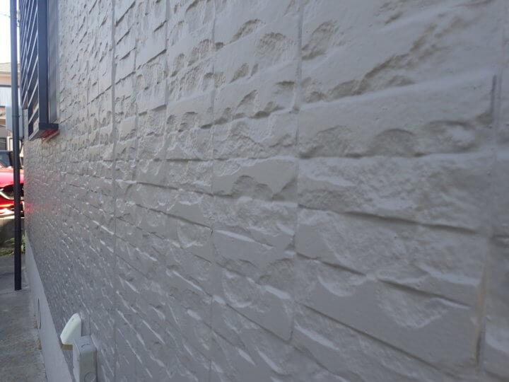 1階外壁塗装完成