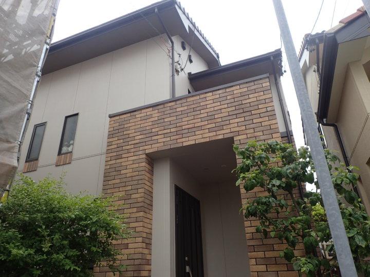 浜松市中区広沢Kさま外壁塗装完成しました。外壁塗装の事なら浜松塗装専門店|加藤塗装