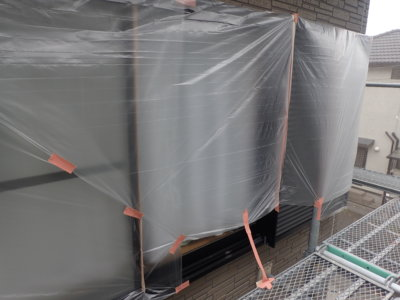 外壁塗装のことなら浜松塗装専門店|加藤塗装 新型コロナウイルス対策 養生 熱中症 窓を塞ぐ 密閉空間 工夫 職人 換気 気遣い 一戸建て住宅