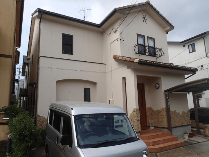 浜松市中区広沢町Iさま外壁塗装完成しました。外壁塗装の事なら浜松塗装専門店|加藤塗装