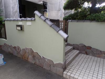 浜松市南区遠州浜施工事例外壁塗装の事なら浜松塗装専門店|加藤塗装