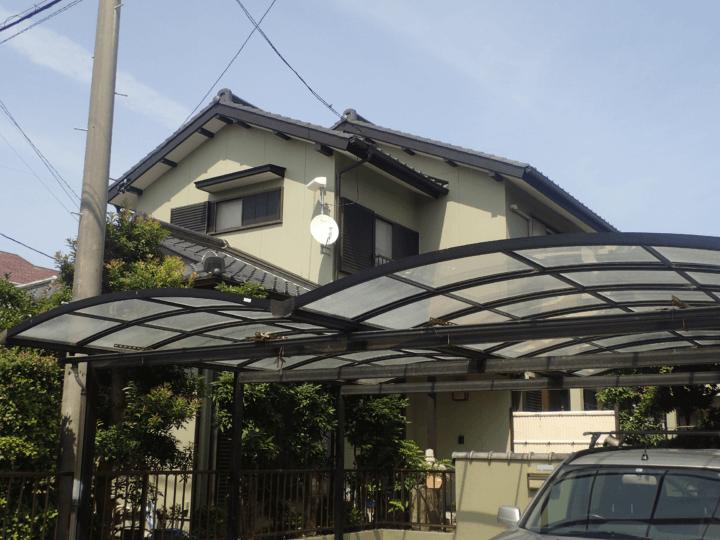 浜松市南区遠州浜Yさま外壁塗装完成しました。外壁塗装の事なら浜松塗装専門店|加藤塗装