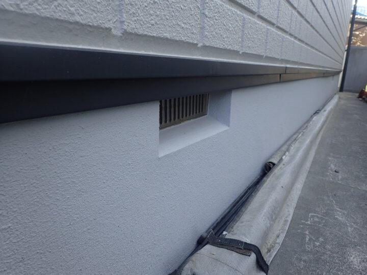 基礎コンクリート塗装完成