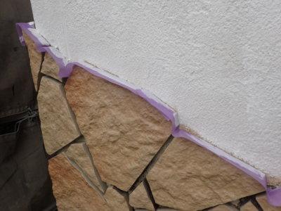 養生テープの使い方外壁タイルハルカベ浜松塗装専門店|加藤塗装
