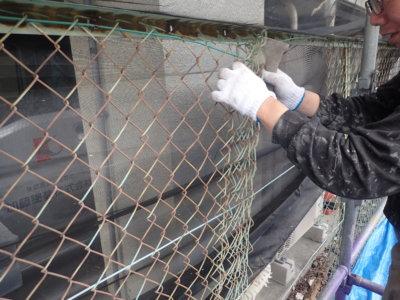 6月5日ロゴマークの日 加藤塗装 フェンス取り外しフックカーテン