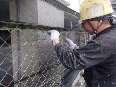 6月5日ロゴマークの日 加藤塗装 フェンス取り外しフック