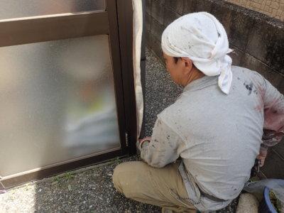 外壁塗装の事なら浜松塗装専門店|加藤塗装 浜松市東区 養生