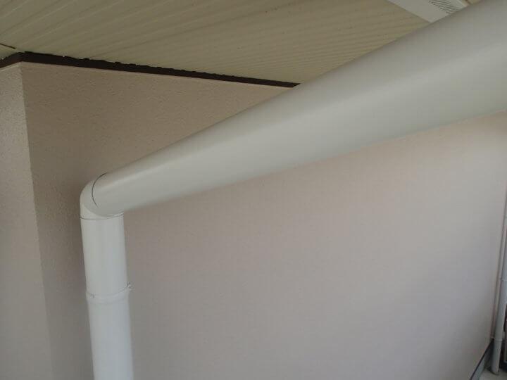 樋塗装完成