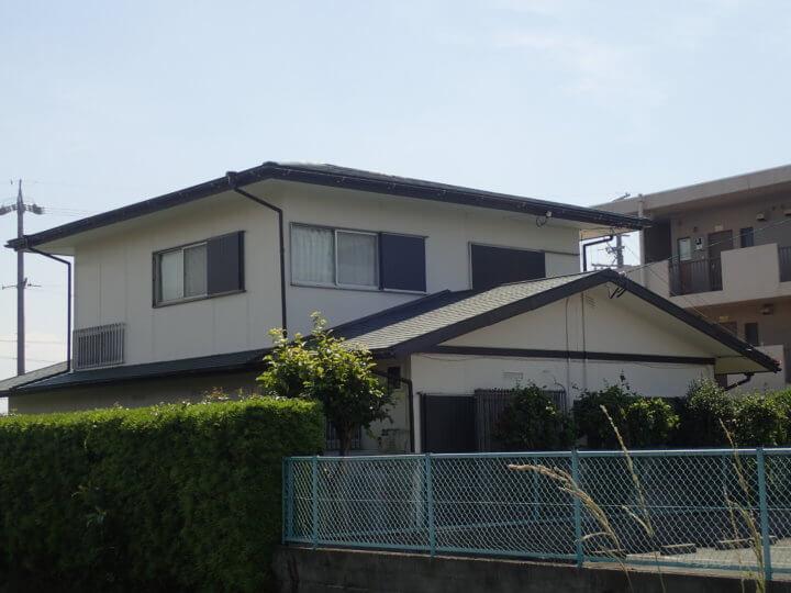 浜松市南区飯田町Kさま外壁塗装、屋根改修工事完成しました。外壁塗装の事なら浜松塗装専門店|加藤塗装