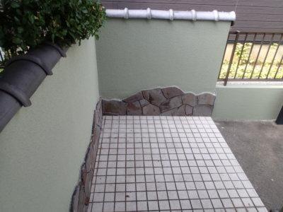 浜松市南区遠州浜施工事例外壁塗装の事なら浜松塗装専門店|加藤塗装外構塀塗装門塀